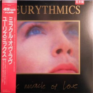 """6579 - Eurythmics - The Miracle Of Love - Japan - Promo 12"""" Single - RPS1031"""