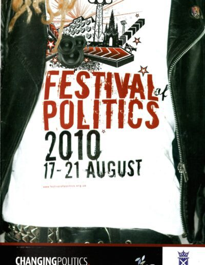 Programme : 2010-08-19 – Annie Lennox – Festival Of Politics from The UK ID: 2648