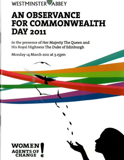 Programme : 2011-03-14 – Annie Lennox – An Observance For Commonwealth Day from The UK ID: 2640