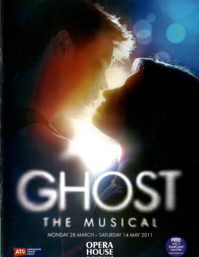 Programme : 2011-03-28 – Dave Stewart – Ghost The Musical from The UK ID: 2389