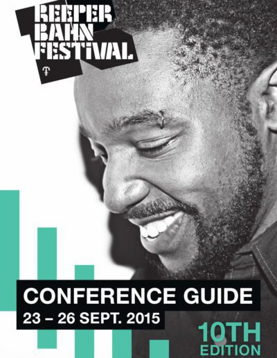 Programme : 2015-09-24 – Dave Stewart – Reeperbahn Festival Guide 2015 from  Germany ID: 3018