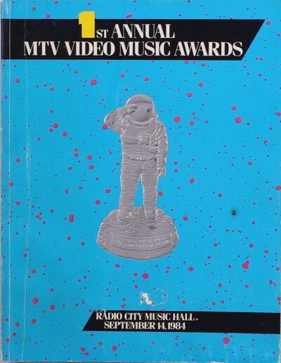 Programme : 1984-09-14 – Eurythmics – MTV Video Music Awards from The USA ID: 2661