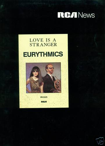 1982-11-01 – Eurythmics – Love Is A Stranger from  Germany ID: 3157