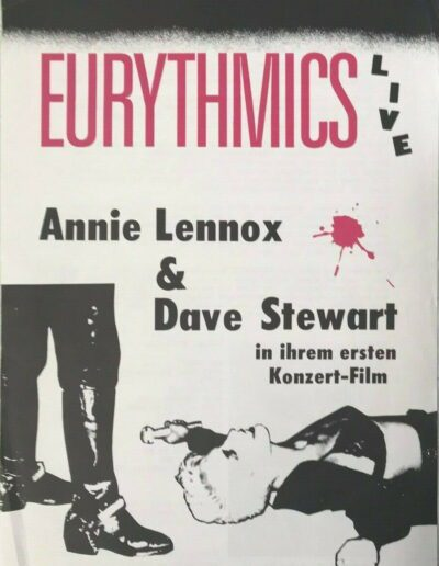 1987-08-01 – Eurythmics – Live Video Release from The Netherlands ID: 3069