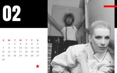 Here's your February Ultimate Eurythmics Archives desktop background