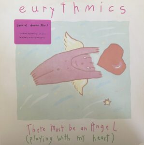 """6646 - Eurythmics - There Must Be An Angel (Playing With My Heart) - The UK - 12"""" Single - PT-40248R"""