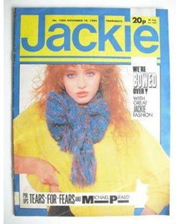 1984-11-10 - Eurythmics - Jackie from The UK ID: 0312