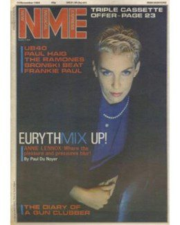 1984-11-10 - Eurythmics - NME from The UK ID: 0313