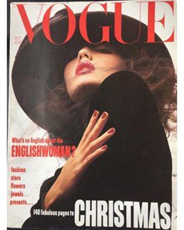 1984-12-01 - Eurythmics - Vogue from The UK ID: 0327