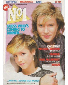 1985-01-12 - Eurythmics - No. 1 from The UK ID: 0347