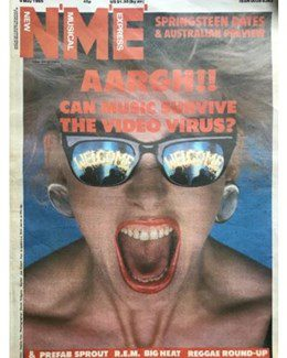 1985-05-04 - Eurythmics - NME from The UK ID: 0378