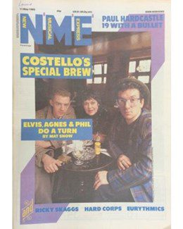 1985-05-11 - Eurythmics - NME from The UK ID: 0382