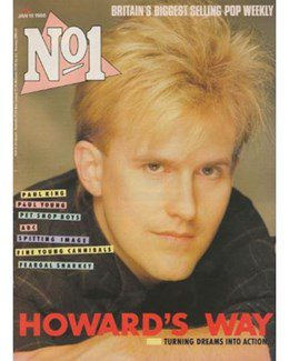 1986-01-18 - Eurythmics - No. 1 from The UK ID: 0453