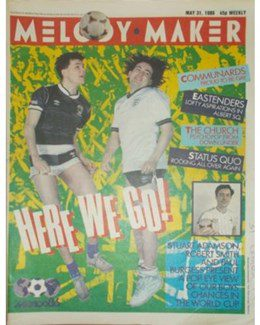 1986-05-31 - Eurythmics - Melody Maker from The UK ID: 0471