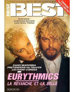 1986-11-01 - Eurythmics - Best from  France ID: 0534