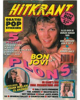 1987-03-28 - Eurythmics - Hitkrant from The Netherlands ID: 0594