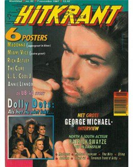 1987-11-07 - Eurythmics - HitKrant from The Netherlands ID: 0628