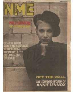 1987-11-07 - Eurythmics - NME from The UK ID: 0629