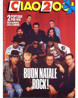 1987-12-30 - Annie Lennox - Ciao 2001 from  Italy ID: 0647