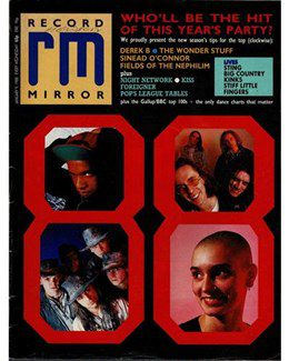 1988-01-09 - Eurythmics - Record Mirror from The UK ID: 0658