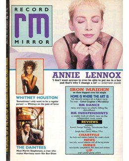 1988-04-09 - Eurythmics - Record Mirror from The UK ID: 0677