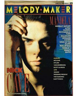 1988-06-18 - Eurythmics - Melody Maker from The UK ID: 0687