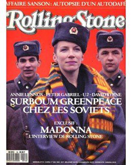 1989-04-01 - Annie Lennox - Rolling Stone from  France ID: 0719