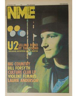 1984-10-27 - Eurythmics - NME from The UK ID: 0724