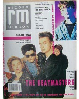 1989-08-09 - Eurythmics - Record Mirror from The UK ID: 0730