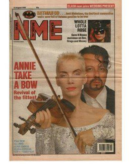 1989-08-12 - Eurythmics - NME from The UK ID: 0732