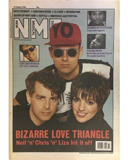 1989-08-19 - Eurythmics - NME from The UK ID: 0734