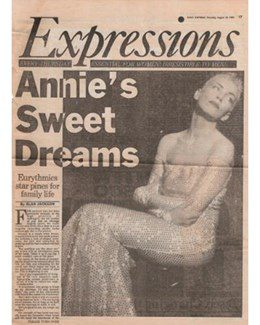 1989-08-24 - Eurythmics - Daily Express from The UK ID: 0737