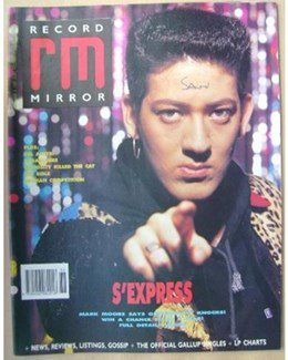 1989-09-09 - Eurythmics - Record Mirror from The UK ID: 0756