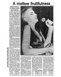 1989-09-10 - Eurythmics - The Sunday Times from The UK ID: 0757