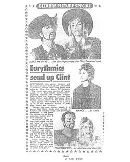 1990-02-02 - Eurythmics - The Sun from The UK ID: 0822