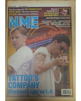 1990-08-18 - Dave Stewart - NME from The UK ID: 0841