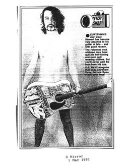 1991-05-01 - Dave Stewart - Daily Mirror from The UK ID: 0896