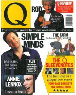 1991-05-01 - Annie Lennox - Q from The UK ID: 0898