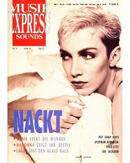1991-06-01 - Eurythmics - Musik Express Sounds from  Germany ID: 0903