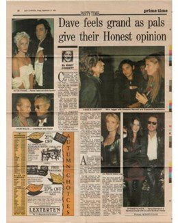1991-09-27 - Dave Stewart - Daily Express from The UK ID: 0916