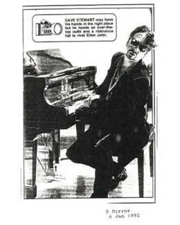1992-01-06 - Dave Stewart - Daily Mirror from The UK ID: 0943