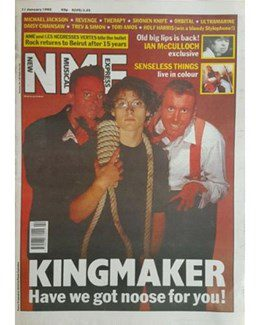 1992-01-11 - Dave Stewart - NME from The UK ID: 0944