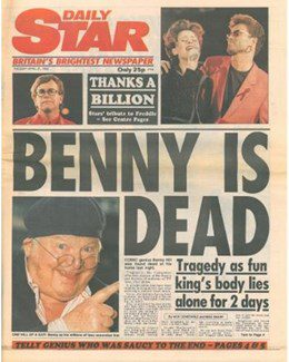1992-04-21 - Annie Lennox - Daily Star from The UK ID: 0984