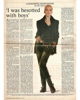1992-05-02 - Annie Lennox - The Times Saturday Review from The UK ID: 1003