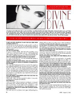 1992-08-03 - Annie Lennox - Hits from The USA ID: 1032