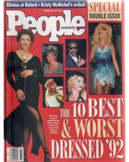 1992-10-26 - Annie Lennox - People Weekly from The USA ID: 1041