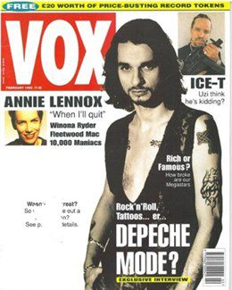 1993-02-01 - Annie Lennox - Vox from The UK ID: 1056