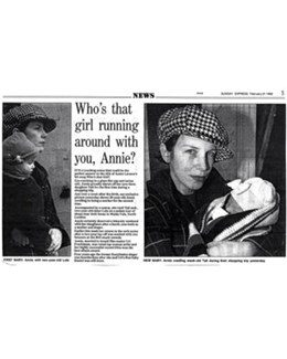 1993-02-21 - Annie Lennox - Sunday Express from The UK ID: 1059