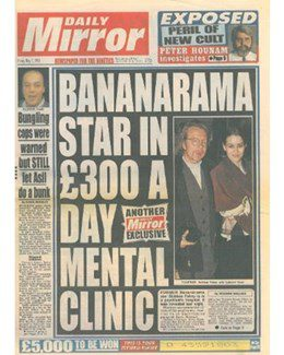 1993-05-07 - Dave Stewart - Daily Mirror from The UK ID: 1073