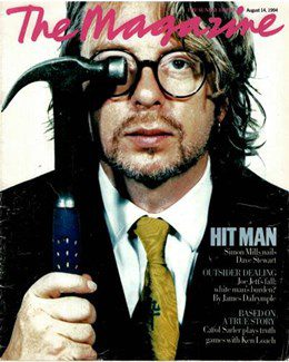 1994-08-14 - Dave Stewart - The Times Magazine from The UK ID: 1095